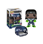 NFL POP! Football Vinyl Figura Richard Sherman (Seattle Seahawks) 9 cm