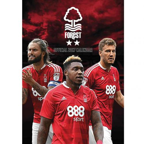 Calendario 2017 Nottingham Forest F.C.