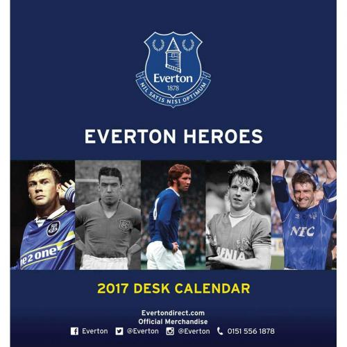 Calendario 2017 Everton F.C. de escritorio