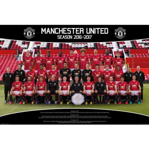 Póster Manchester United FC 241143