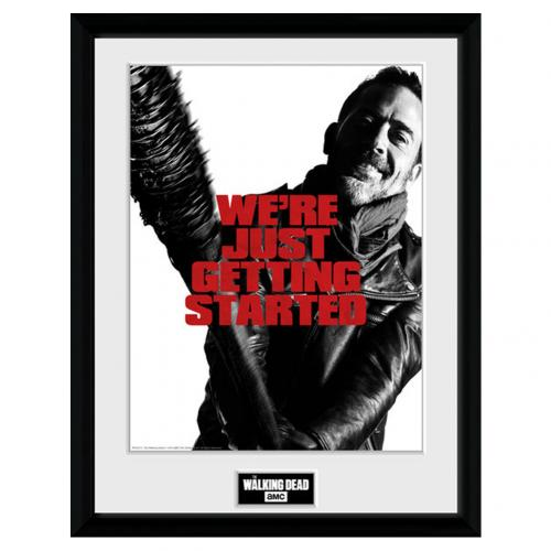 Póster Enmarcado The Walking Dead Negan 40 x 30 cm