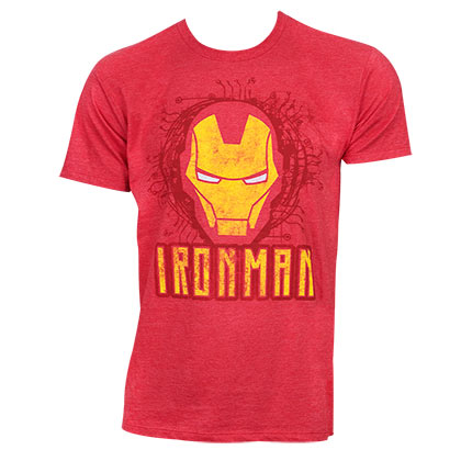 Camiseta Iron Man Face Logo
