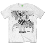 Camiseta The Beatles Revolver Album Cover