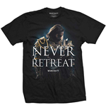 Camiseta World of Warcraft Never Retreat