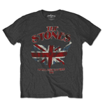 Camiseta The Rolling Stones Union Jack US Map