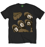 Camiseta The Beatles Rubber Soul Sketch