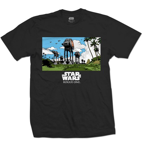 Camiseta Star Wars Rogue One AT-AT March