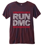 Camiseta Run DMC Logo Vintage