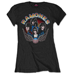 Camiseta Ramones Vintage Wings Photo
