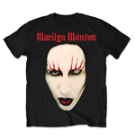 Camiseta Marilyn Manson Red Lips