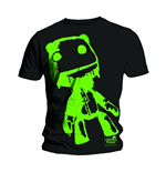 Camiseta Little Big Planet Sack Boy Green