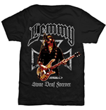 Camiseta Lemmy Iron Cross Stone Deaf Forever