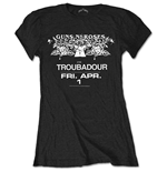 Camiseta Guns N' Roses Troubadour Flyer