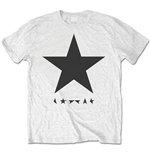 Camiseta David Bowie Blackstar (on White)