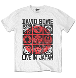 Camiseta David Bowie Live in Japan