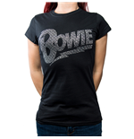 Camiseta David Bowie Flash Logo