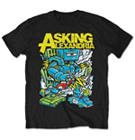 Camiseta Asking Alexandria Killer Robot