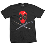 Camiseta Deadpool Crossbones