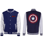 Chaqueta The Avengers Assemble - Distressed Shield