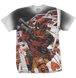 Camiseta Deadpool Deadpool Cards