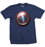 Camiseta Marvel Comics - Captain America Civil War Clawed Shield