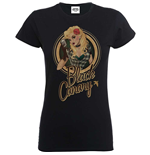 Camiseta Bombshell Justice League Bombshell Canary Badge
