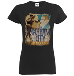 Camiseta Bombshell Justice League Bombshell Batgirl Gotham City Airlines