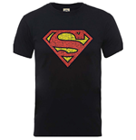 Camiseta Originals Superman Shield Crackle Logo