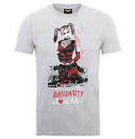 Camiseta Batman Arkham City Harley Quinn Somebody Loves Me