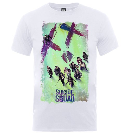 Camiseta Suicide Squad Movie Poster