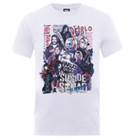Camiseta Suicide Squad Harley's Character Collage