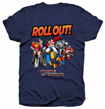 Camiseta Transformers Roll Out