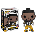 NFL POP! Football Vinyl Figura Antonio Brown (Steelers) 9 cm