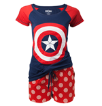 Pijama Captain America: Civil War - Shield Logo