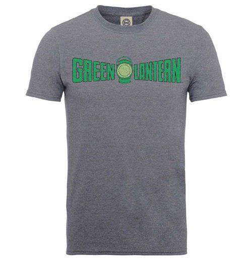 Camiseta Superhéroes DC Comics Originals Green Lantern Crackle Logo