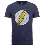 Camiseta Flash Flash Distressed Logo
