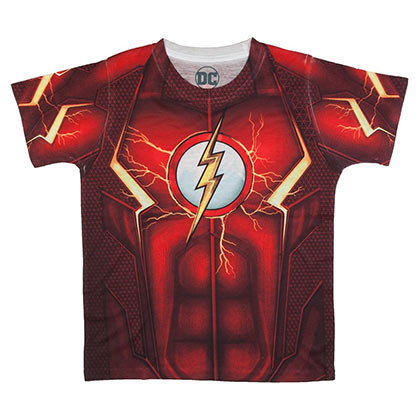 Camiseta Flash de chicos
