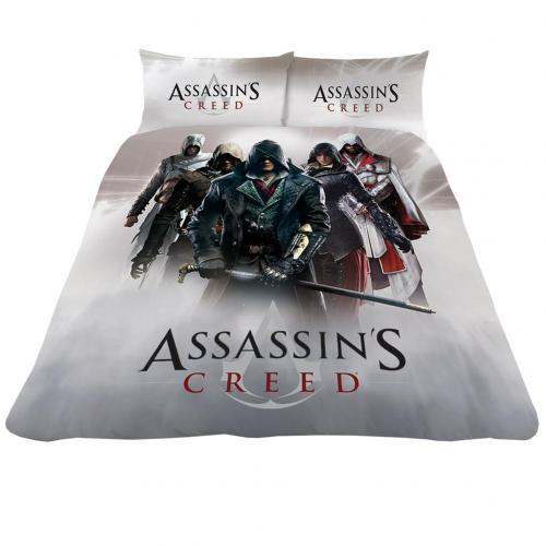 Juego de cama doble Assassins Creed