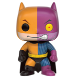 DC Comics POP! Heroes Vinyl Figura Batman as Two-Face Impopster 9 cm