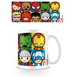 Marvel Comics Taza Kawaii Characters