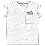 Camiseta Pusheen Pocket Pusheen