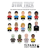 Star Trek TOS Display de 20 Minifiguras Where No Man Has Gone Before Collection Titans 8 cm