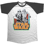 Camiseta Star Wars Classic Troopers & Logo