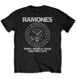 Camiseta Ramones First World Tour 1978
