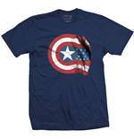 Camiseta Marvel Superheroes Captain America American Shield
