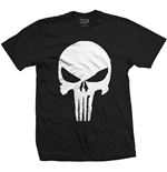 Camiseta Marvel Superheroes Punisher Jagged Skull