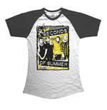 Camiseta 5 seconds of summer Splatter