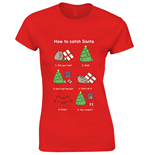 Camiseta Pusheen How To Catch Santa