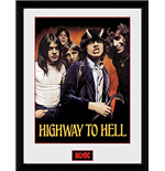 Foto Enmarcada AC/DC - Highway To Hell - 30x40 Cm