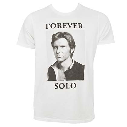 Camiseta Star Wars Forever Solo Han Solo
